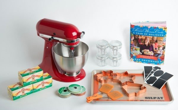 Win the ultimate holiday baking prize from Land O'Lakes - enter at www.afarmgirlsdabbles.com
