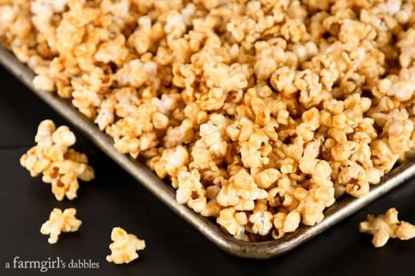 Mom's Microwave Caramel Popcorn • a farmgirl's dabblesa farmgirl'...