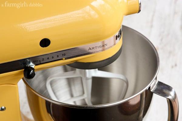 a kitchenaid mixer