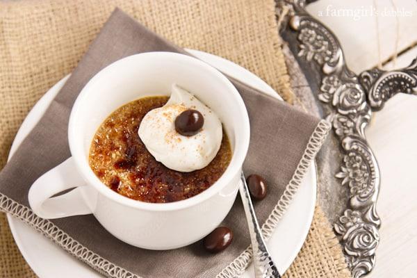 Cappuccino Crème Brûlée - afarmgirlsdabbles.com