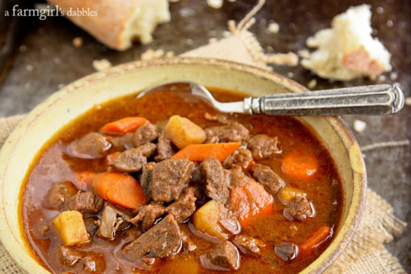 Slow Cooker Hungarian Goulash {Hungary & Austria} • a farmgirl's ...