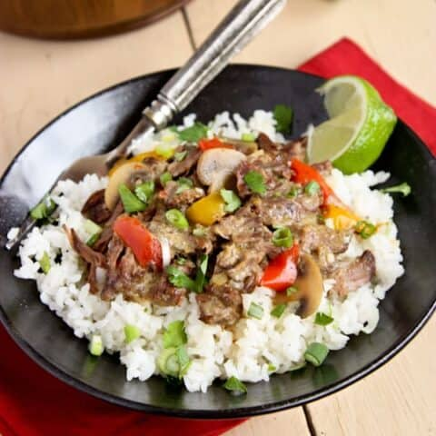 coconut curry beef and rice
