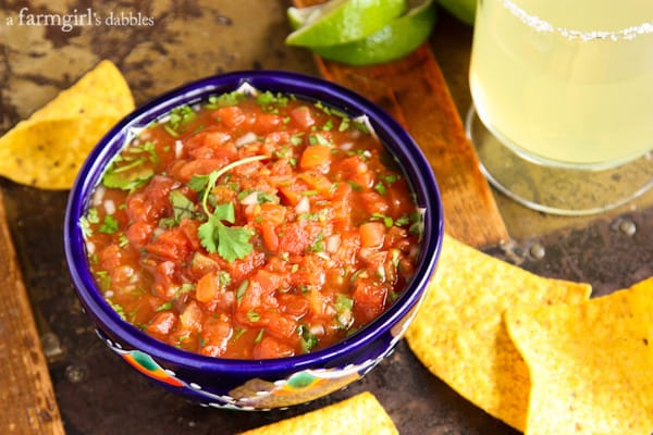 Warm Mexico Salsa - afarmgirlsdabbles.com