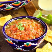 Warm Mexico Salsa
