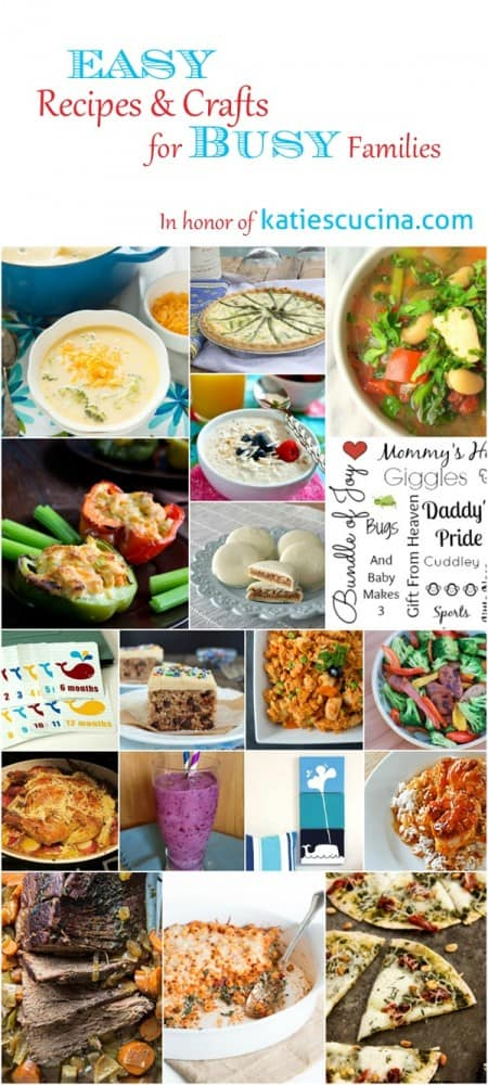 Easy Recipes & Crafts - Virtual Baby Shower for Katie of Katie's Cucina