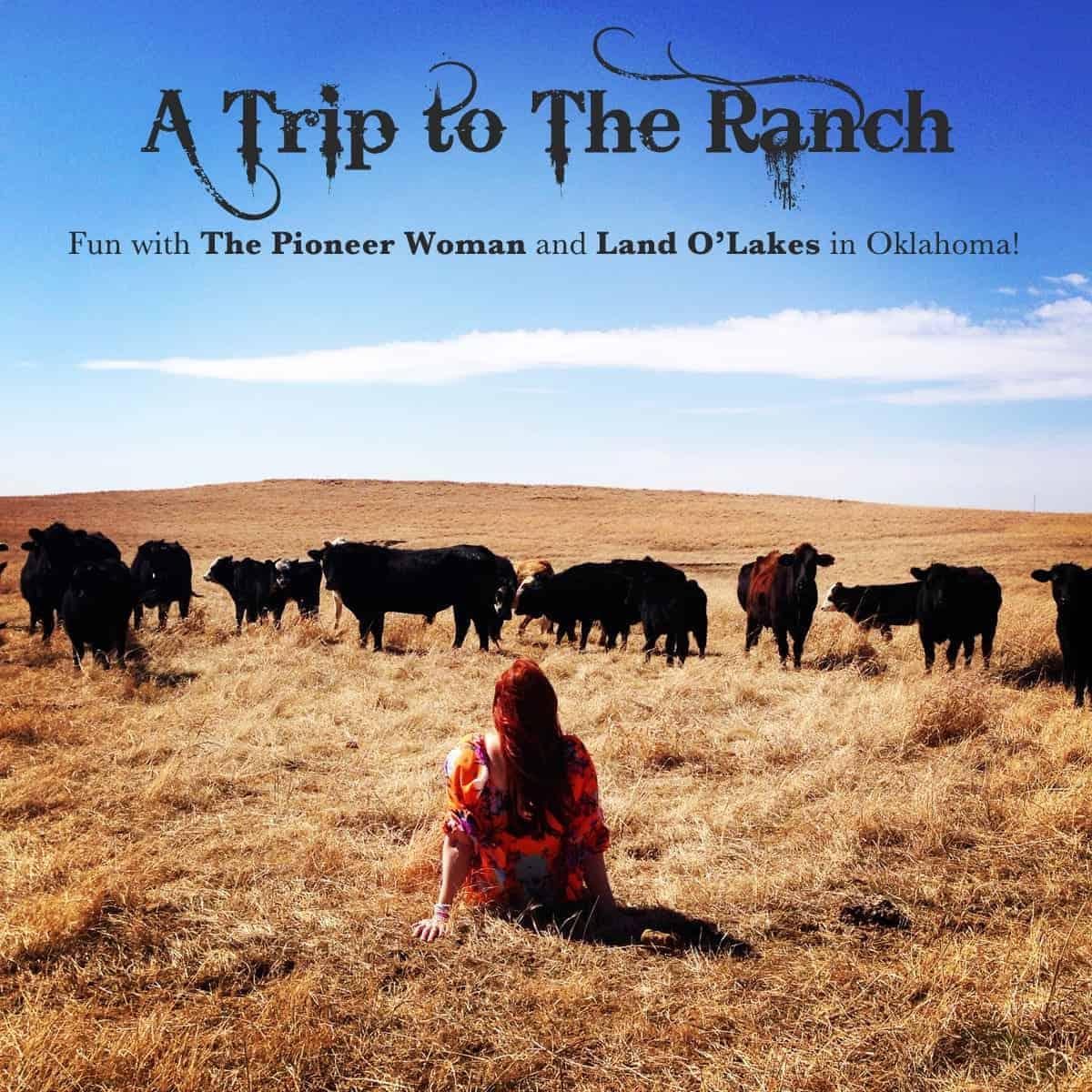 A Trip to The Ranch with The Pioneer Woman and Land O'Lakes - afarmgirlsdabbles.com