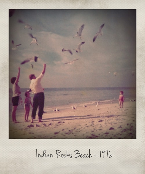 Indian Rocks Beach 1976 - afarmgirlsdabbles.com