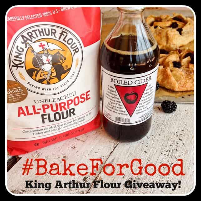 #BakeForGoodTour with King Arthur Flour #giveaway - afarmgirlsdabbles.com