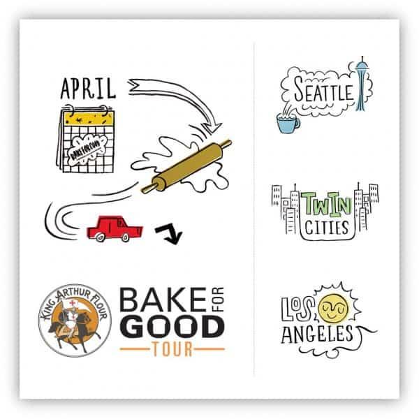 King Arthur Flour Bake for Good tour