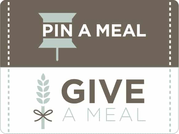 pin a meal, give a meal campaign