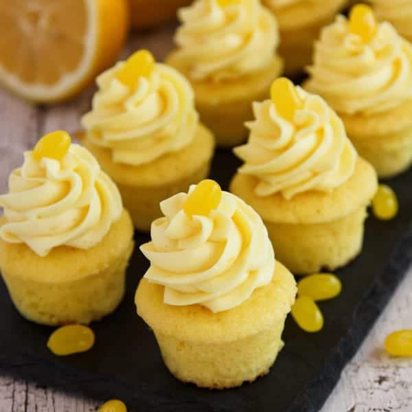 Image of Triple Lemon Baby Cakes