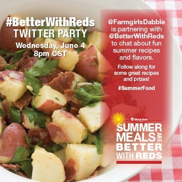 #BetterWithReds Twitter Party - afarmgirlsdabbles.com #BetterWithReds #SummerFood