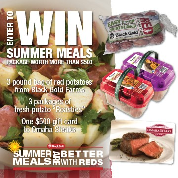 A #Giveaway! Win an @OmahaSteaks and @BetterWithReds prize pack valued at over $500! Enter at afarmgirlsdabbles.com! #BetterWithReds #SummerFood