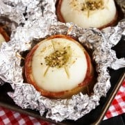 Sweet Vidalia Onion and Bacon Packets