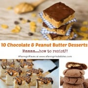 10 chocolate and peanut butter desserts