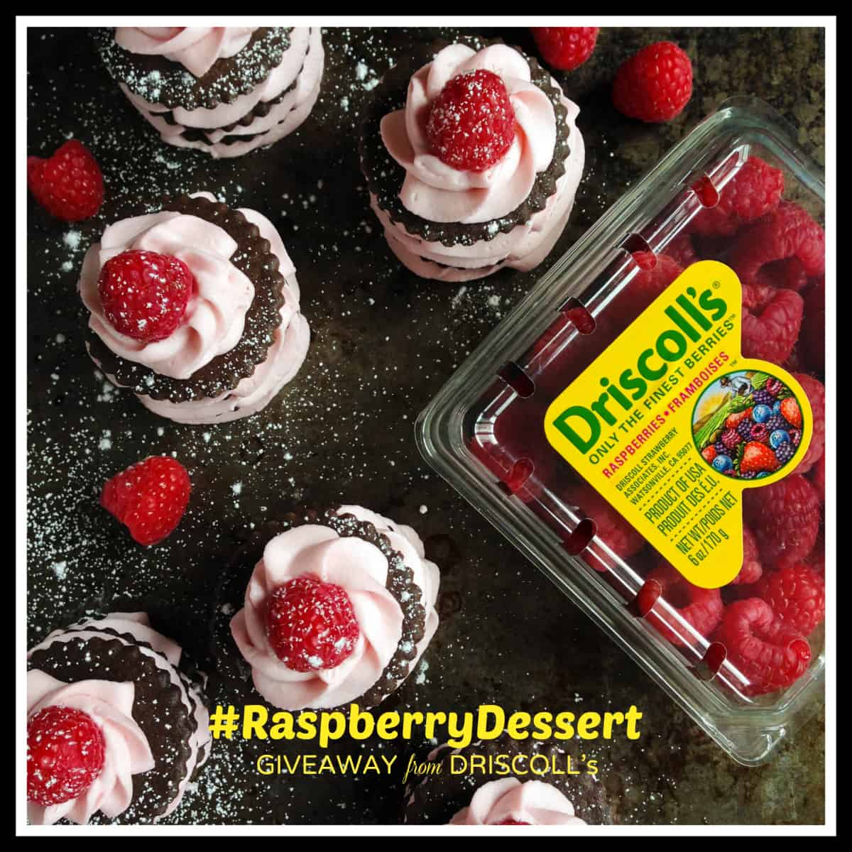 WIN $100 in berries! #RaspberryDessert #Giveaway - afarmgirlsdabbles.com