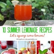 10 summer lemonade recipes