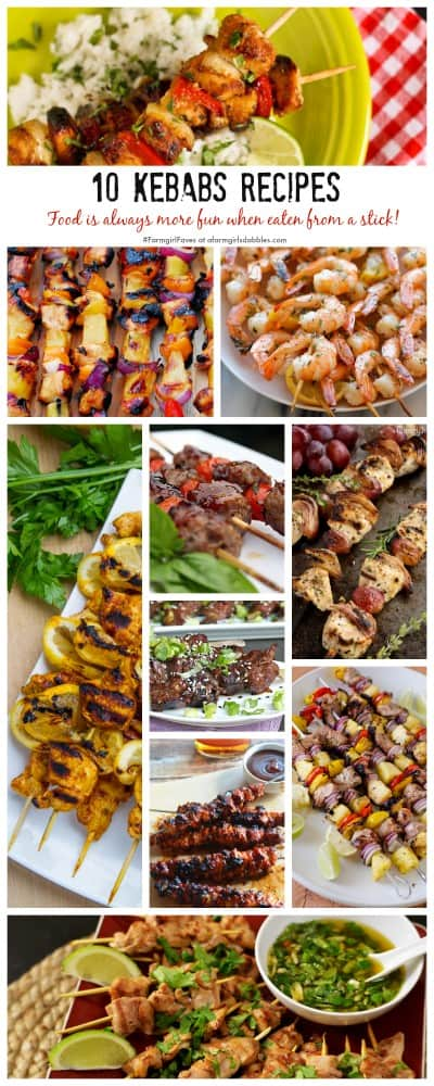 The Best Shrimp, Beef, Pork and Chicken Skewer Recipes