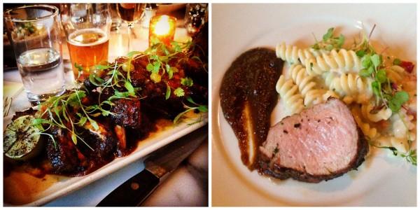 Butcher & the Boar, Jerk Baby Back Pork Ribs recipe - #PorkBucketList at afarmgirlsdabbles.com @farmgirlsdabble #pork #lobster #macandcheese