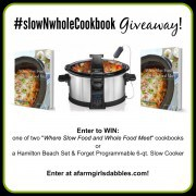 slownwholecookbook giveaway