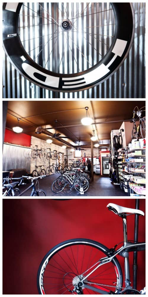 bikes at Chilkoot Cafe and Cyclery