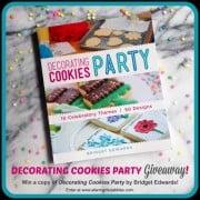 Cookies giveaway