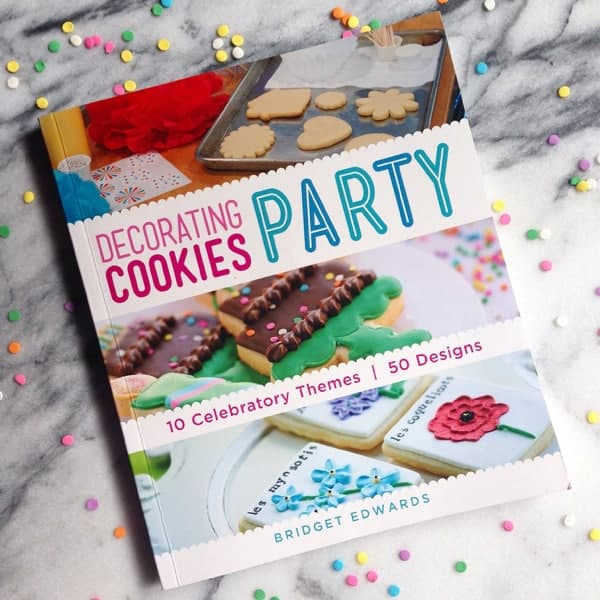 Decorating Cookies Party book by Bridget Edwards