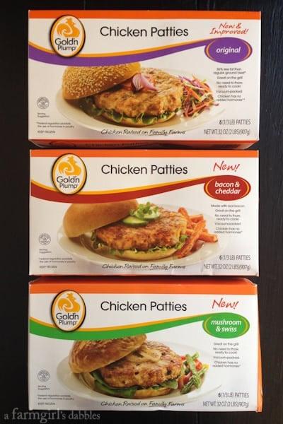 Gold'n Plump chicken patties - afarmgirlsdabbles.com #chicken #breakfast