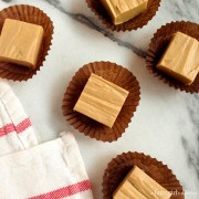 Foolproof Peanut Butter Fudge {2 ingredients!}