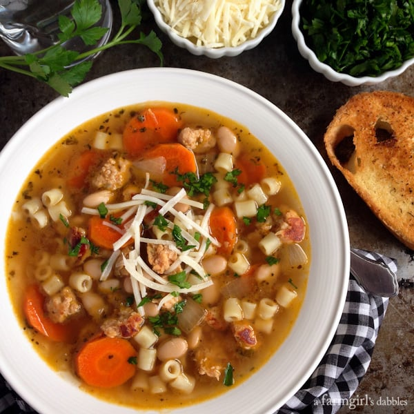 ... kale and spinach white bean and turkey white bean and sausage stew