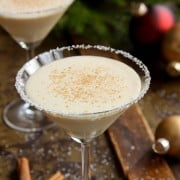 Angela Eggnog Cocktail