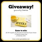 Cheerios giveaway