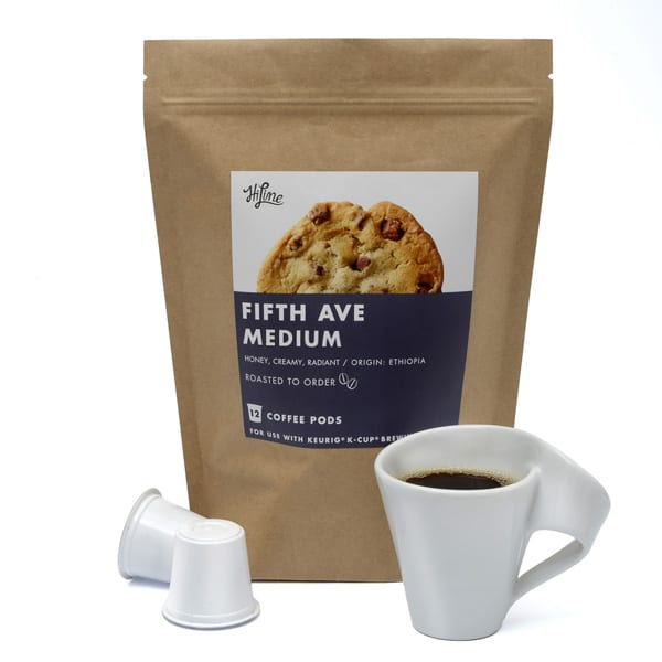 Fifth Ave K-Cups - HiLine Coffee Company