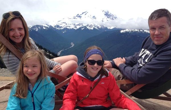 Happy New Year - Mt. Rainier - afarmgirlsdabbles.com