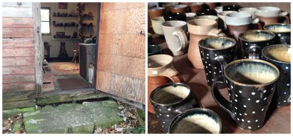 Willem Gebben pottery studio