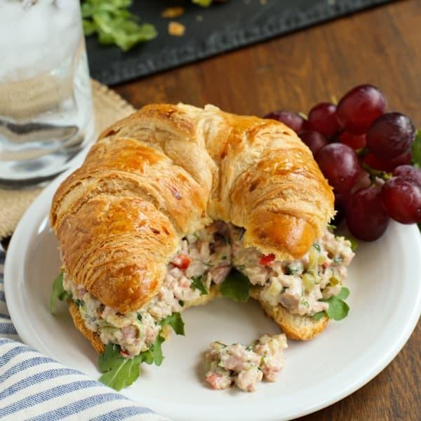 Herby Ham Salad
