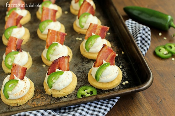 Jalapeno Corn Cakes with Honey Whipped Goat Cheese and ...