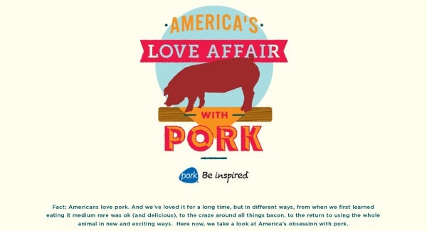 America's Love Affair with Pork from Pork Be Inspired