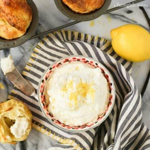 Whipped Lemon-Vanilla Bean Butter