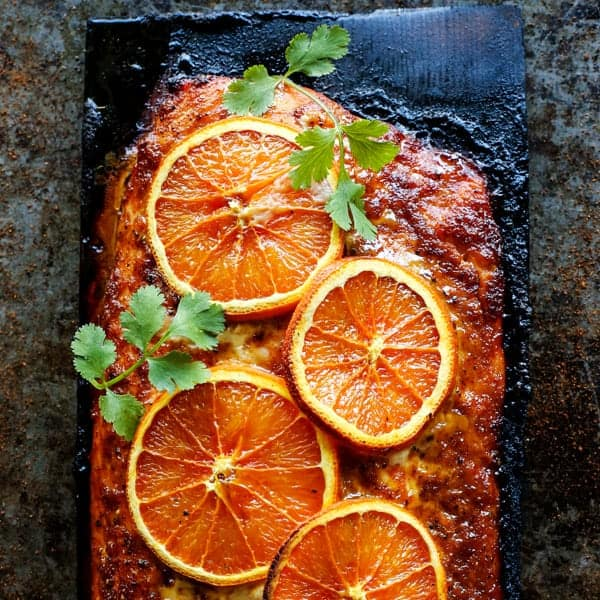 Grilled Chipotle-Orange Salmon