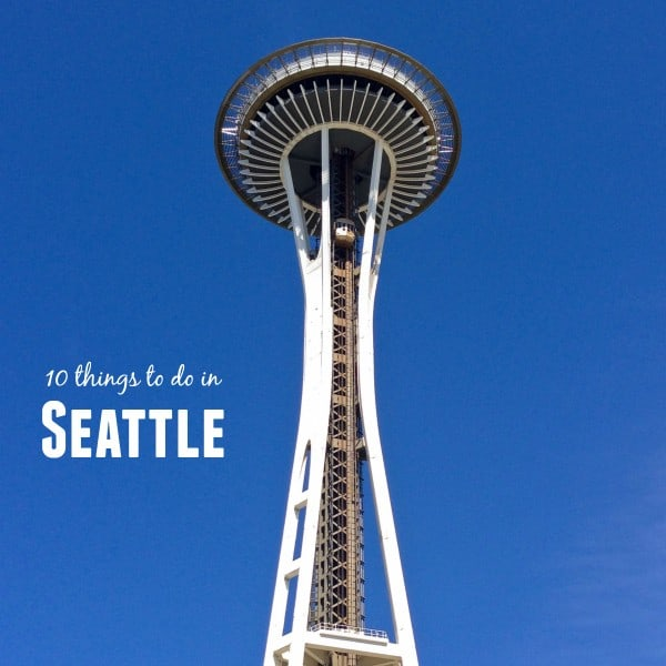 10 things to do in Seattle from afarmgirlsdabbles.com #afdtravel #seattle