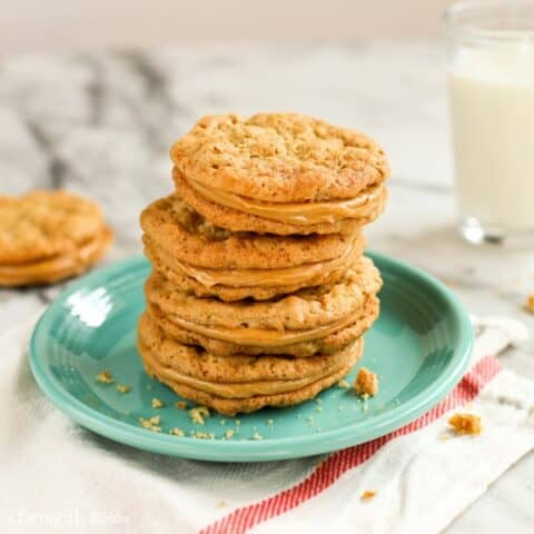 Buttery Peanut Butter Sandwich Cookies