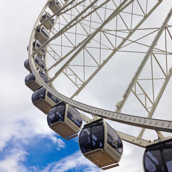Seattle Great Wheel - afarmgirlsdabbles.com #afdtravel #seattle