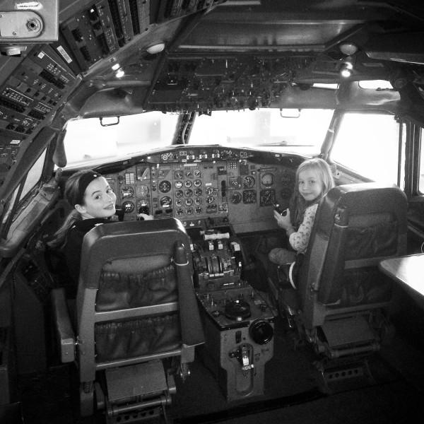 Boeing tour in Everett, WA
