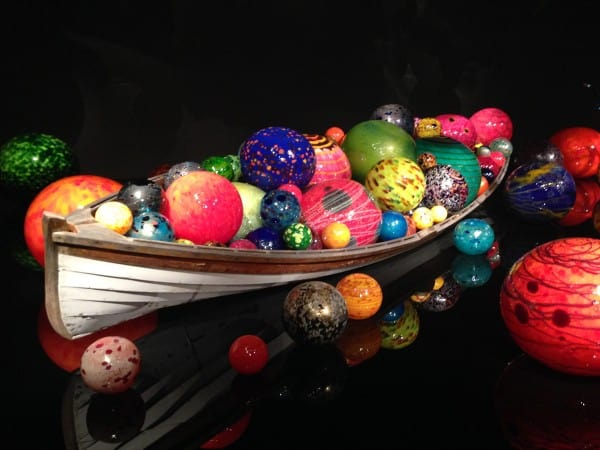Chihuly Garden & Glass in Seattle - afarmgirlsdabbles.com #afdtravel #seattle