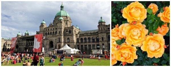 Parliament at Victoria, BC - afarmgirlsdabbles.com #afdtravel
