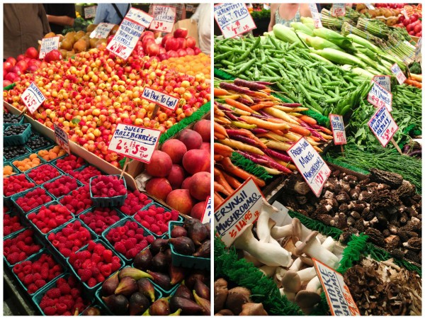 Pike Place Market in Seattle - afarmgirlsdabbles.com #afdtravel #seattle