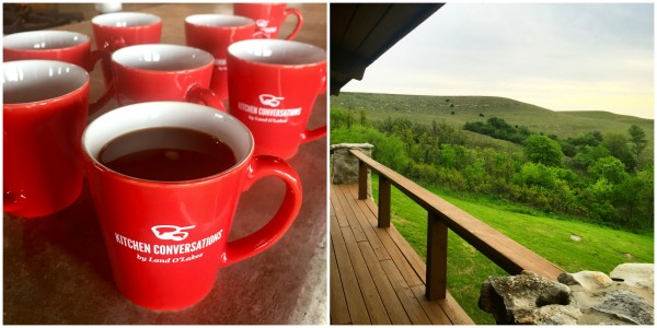 red mugs filled with coffee