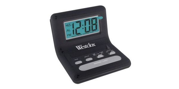 battery operated alarm clock