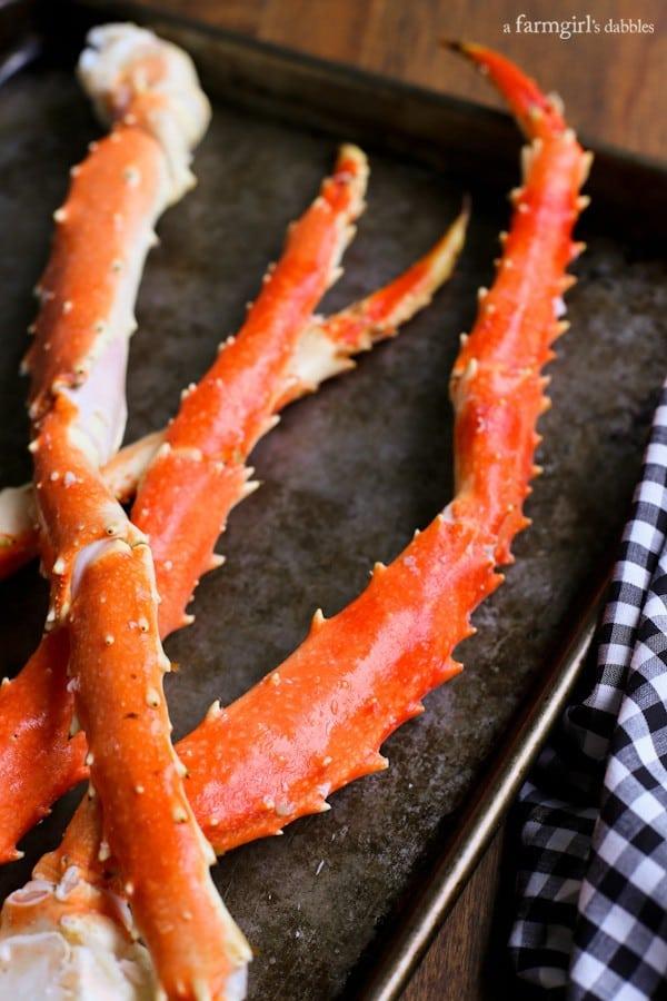 king crab legs - afarmgirlsdabbles.com